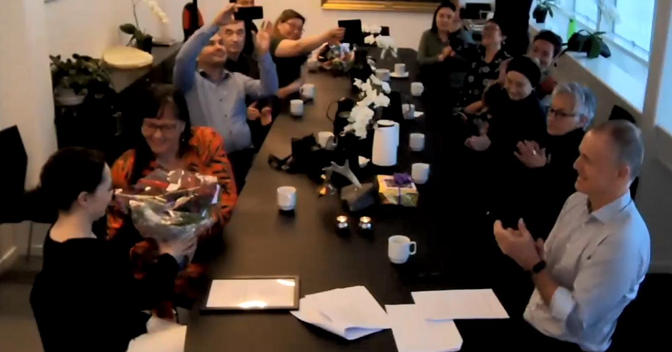 Grønlands Universitet er rammen for overrækkelse af pris til Camilla Kleemann-Andersen