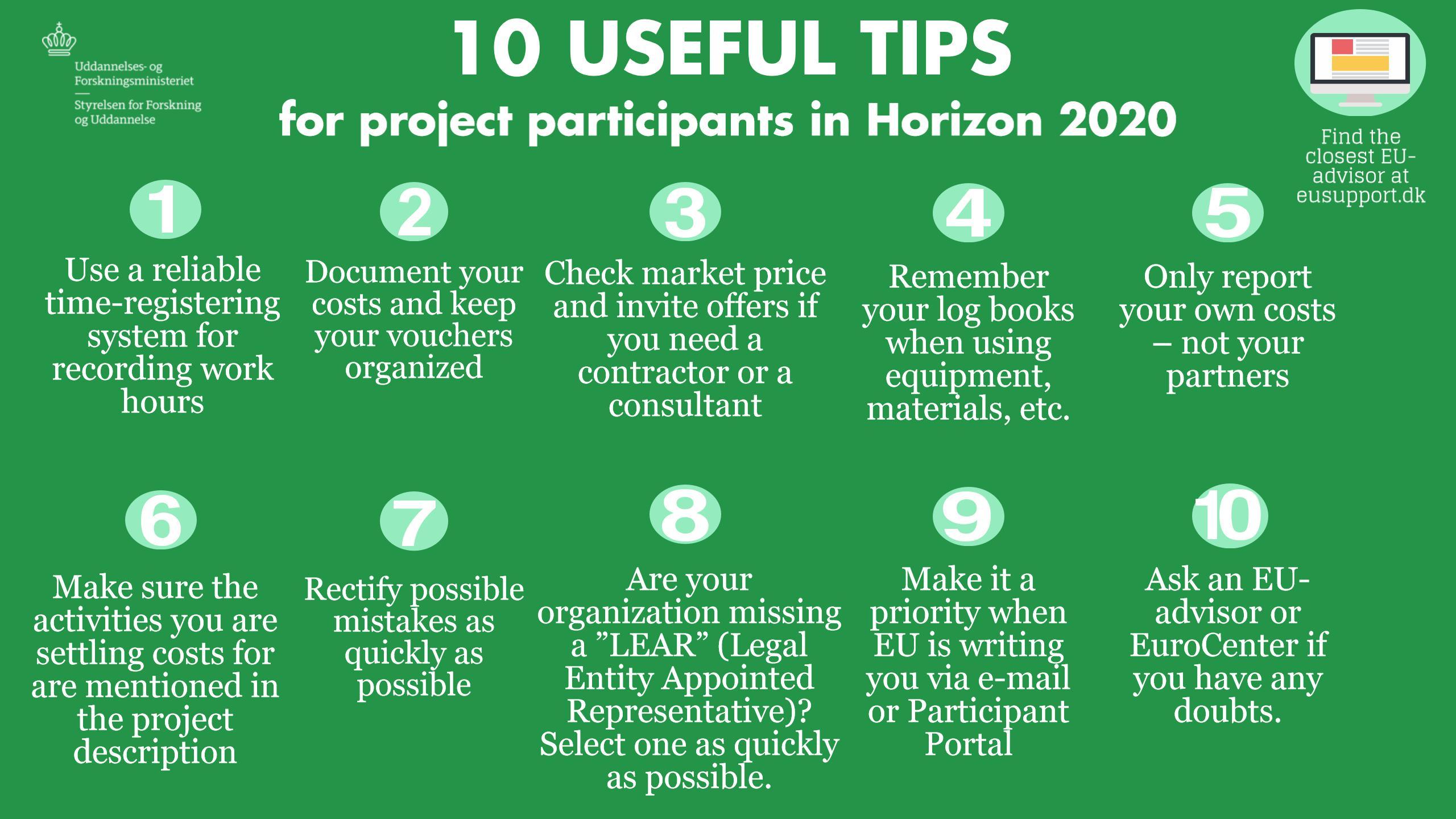 10 useful tips