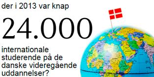 Tal - internationale studerende i DK