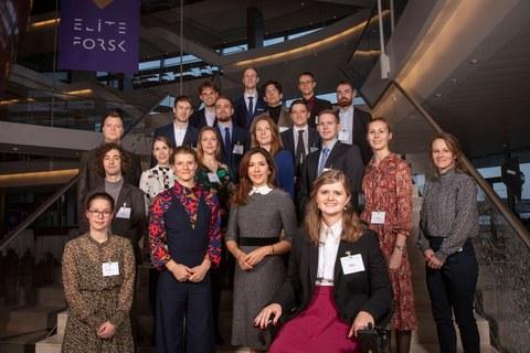 Modtagerne af EliteForsk-rejsestipendium 2020