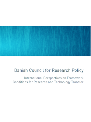 Internationa perspectives on Framework Conditions for Research and Technology Transfer