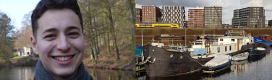 Frivillig på husbåd i Amsterdam