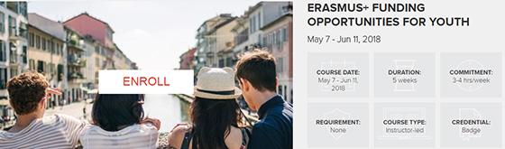 Online kursus om Erasmus+ Ungdom