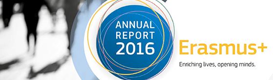 Årsrapport for Erasmus+ 2016