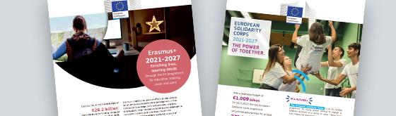 Faktaark om Erasmus og ESC