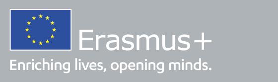 Erasmus logo og slogan
