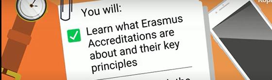 Onlinekursus om Erasmus-akkreditering